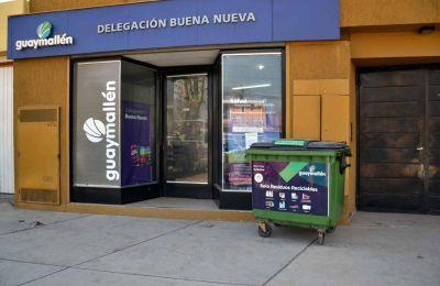 Reciclaje inclusivo: suman cinco contenedores y un nuevo Punto Verde Móvil