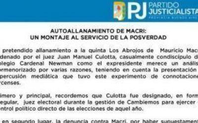 Reunión Macri-intendentes: PJ Bonaerense denunció un