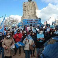 """Nuevo """"banderazo"""" contra el Gobierno en el centro de Mar del Plata"""