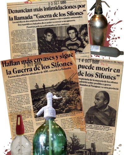 La Guerra de Sifones o de cuando hubo platenses que tomaron soda con laxante