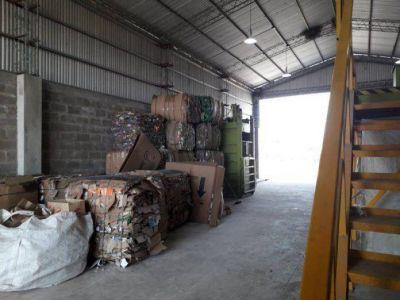 El municipio brindó detalles acerca de la cantidad de material procesado por la planta de clasificación de residuos sólidos urbanos
