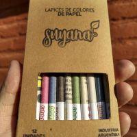 Lápices sustentables: un mendocino creó pinturitas con material reciclado que llegan a todo el país