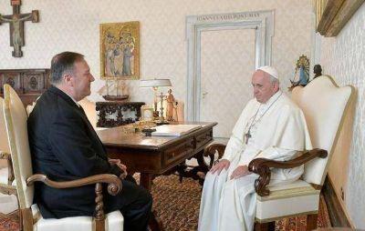 EE UU advierte al Papa que no renueve los pactos secretos con China