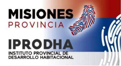 """El IPRODHA informa que """"Arreglo Mi Casa"""" y """"Mejor Vivir"""" no corresponden al mismo programa"""