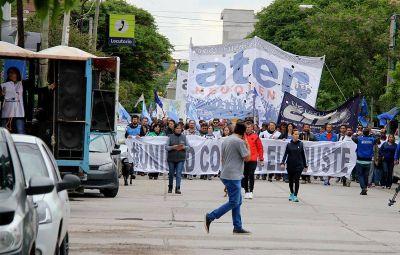 ATEN convocó un paro virtual en Neuquén por incumplimiento del pago de salarios
