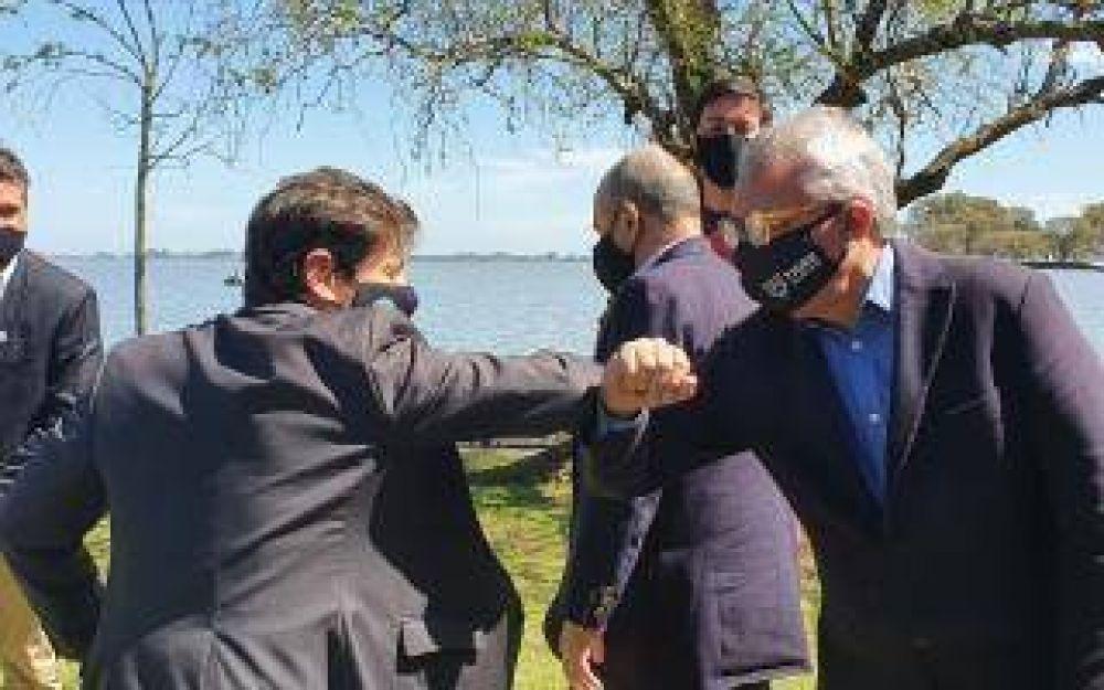 El Intendente Zamora acompañó a Kicillof en la presentación del Fondo para la Reactivación Cultural y Turística