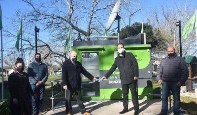 Paredi inauguró el cajero automático fijo en Mar del Cobo