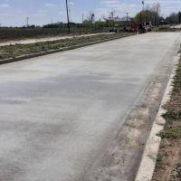 Tordillo: comenzaron los trabajos de pavimento en el acceso Próspero Bonavita