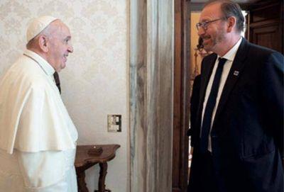 Consejo de Europa: El Papa recibe al presidente de la Asamblea Parlamentaria