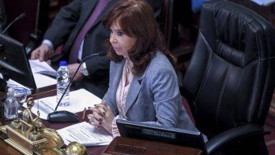 Cristina denuncia que Cambiemos quiere paralizar el Senado para proteger a Larreta