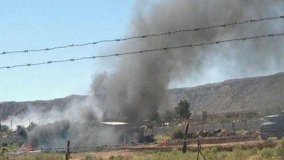 Denuncian quema ilegal de basura en Valentina Norte Rural