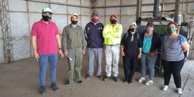 La Intendente Dupouy mencionó el éxito del GIRSU, y saludó la incorporación de una nueva Cooperativa de reciclado
