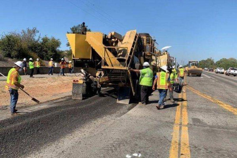 Estados Unidos hace su primera autopista con plástico reciclado