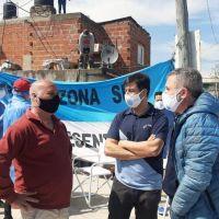 La CGT Lomas continua realizando operativos sanitarios en el distrito