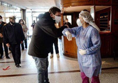 Sumaron el Hotel Tierra del Fuego para atender pacientes con Covid moderado