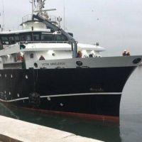Angelescu ingresó al astillero SPI para someterse a trabajo de mantenimiento preventivo