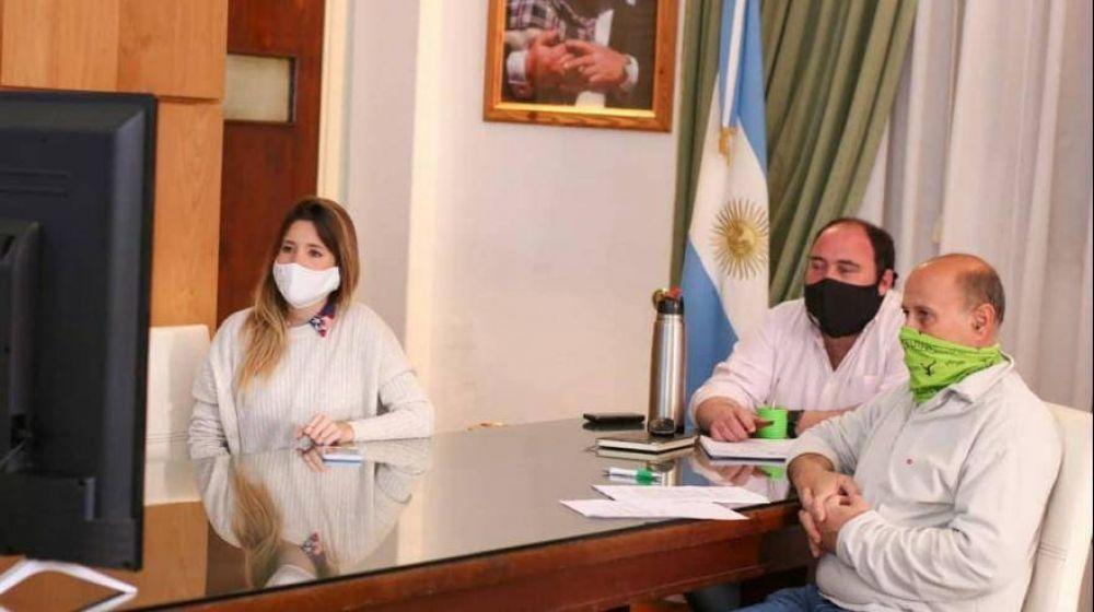 General Paz: el intendente gestiona aporte para el mejoramiento del Parque Industrial
