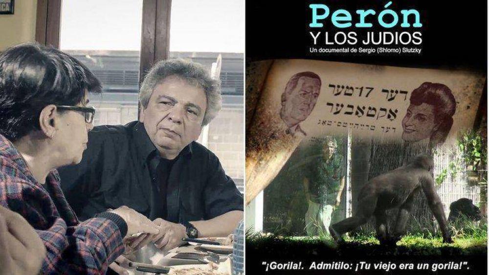"""Perón y los judíos: """"Si este film sirve para reconocer al otro aunque no piense como uno, estoy hecho"""""""