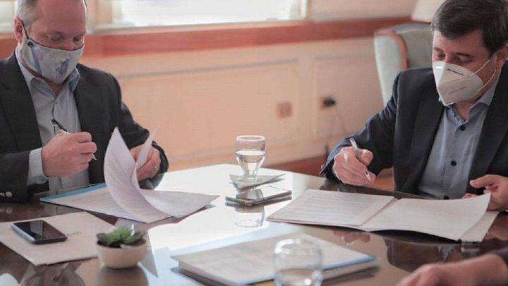 Sabbatella y Arroyo firmaron convenio de fortalecimiento para empresas recuperadas de la Cuenca Matanza Riachuelo