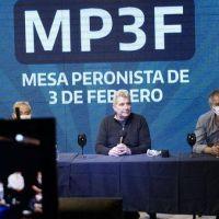 En un multitudinario acto virtual se presentó La Mesa Peronista de Tres de Febrero