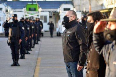 Berni y Conte Grand presentan los números de la evolución del delito en la Provincia