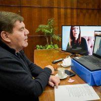 Montenegro junto a María Eugenia Vidal reclaman por una mayor copartipación