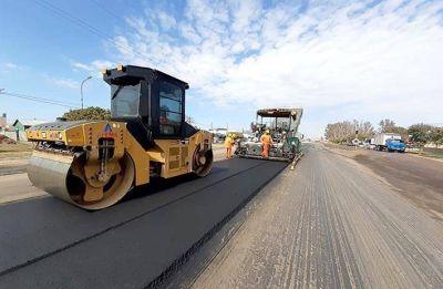 Nación avanza en la reparación integral de la ruta nacional 158