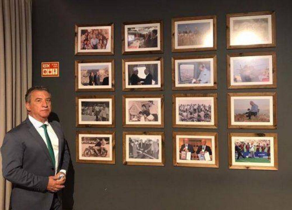 El embajador argentino en Israel, Sergio Urribarri, visitó el Centro Peres para la Paz