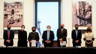Los gobernadores peronistas y la CGT le propondrán a Alberto Fernández que asuma la presidencia del PJ