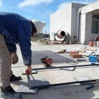 Avanzan las obras del Jardín de Infantes N° 909 de Camet Norte