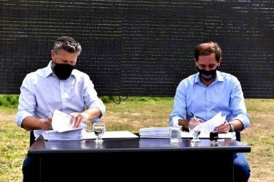 El Municipio e IRSA firmaron convenio para el desarrollo del mega shopping de La Plata