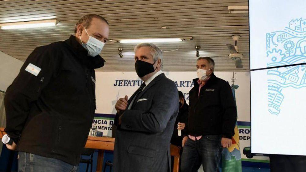 Berni anunció que trabajará junto a Conte Grand y descolocó al gabinete de Kicillof