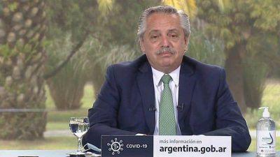 """Alberto Fernández defendió la reforma judicial y cuestionó al presidente de la Corte Suprema"""""""