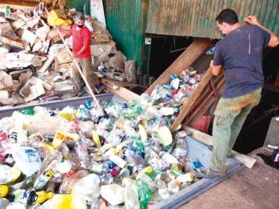 Mecanizan la planta de separación de residuos