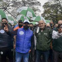 Abrazo simbólico a la quinta de Olivos para  apoyar al Gobierno