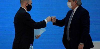 Cumbre en Olivos: Alberto Fernández medió entre Miguel Pesce y Martín Guzmán y habrá medidas para que ingresen dólares del campo