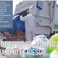 Residuos COVID, minimizar al máximo el riesgo