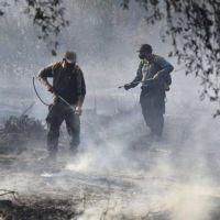 Incendios en Córdoba: tres frentes siguen complicados y el viento no para