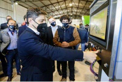 El Gobierno bonaerense presentó un sistema para reducir el volumen y peso de los residuos urbanos