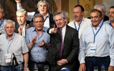 Alberto Fernández, el 17 de octubre y la presidencia del PJ