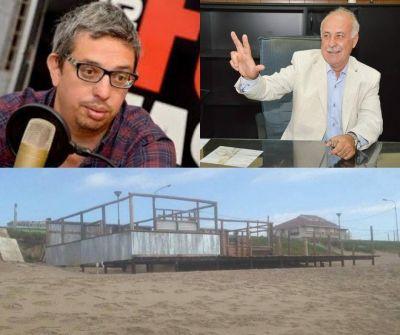 Mar Chiquita: en plena campaña 2019, Ronda y Mogilansky pretendieron pagar la construcción del parador Barra Mansa con fondos municipales