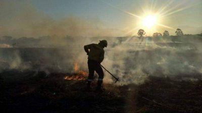 En Jujuy fueron contenidos siete incendios forestales