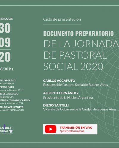 Presentación del documento «Hacia una Cultura del Encuentro, un país para todos»
