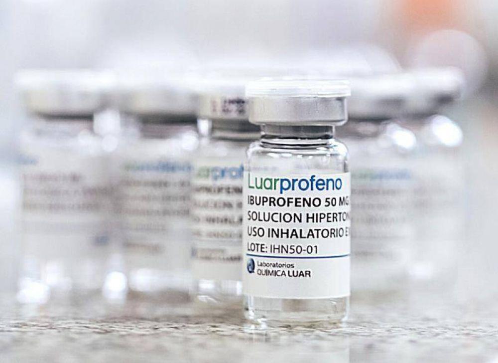 Diferencias en el Frente de Todos por la autorización del tratamiento con ibuprofeno inhalado