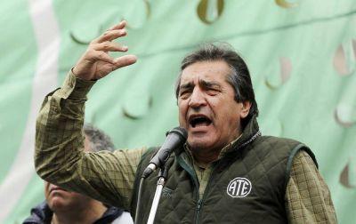 ATE saca su rechazo a la paritaria estatal a la calle: marchará por la 9 de Julio y al Congreso