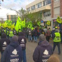 Nueva movilización de la UOCRA