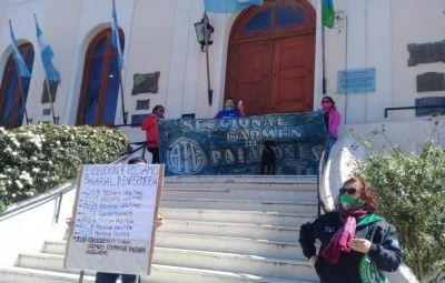 ATE termina 72 horas de paro con movilización y protestas en todo el Partido