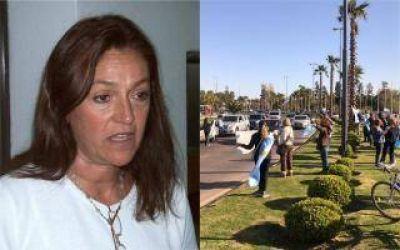 Marcela Campagnoli denuncia persecución a vecinos que marcharon contra el Gobierno en Tigre: