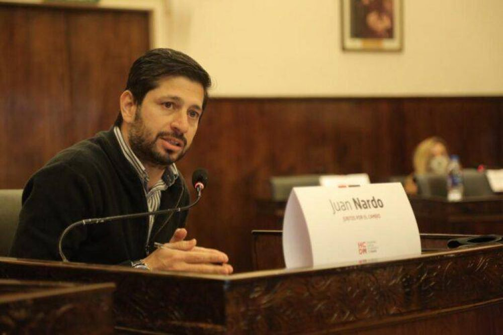 """Juan Nardo: """"Ya van nueve meses de no gestionar el municipio"""""""