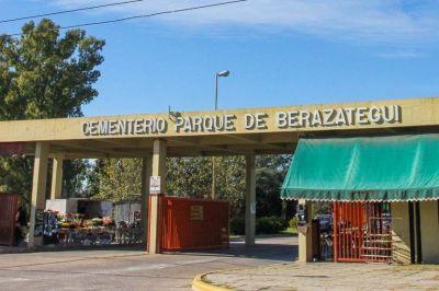 El Cementerio Municipal de Berazategui reabre sus puertas para visitas